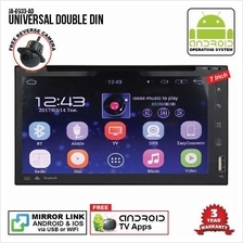 UNIVERSAL 7' ANDROID Double Din GPS DVD Mirror Link Player
