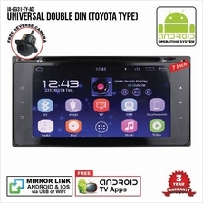 UNIVERSAL TOYOTA 7' ANDROID Double Din GPS DVD Mirror Link Player
