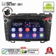 HONDA CRV 2007 - 2012 8' ANDROID Double Din GPS DVD Mirror Link Player