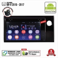HONDA BRV 2015 - 2018 8' ANDROID Double Din GPS DVD Mirror Link Player