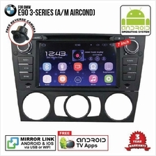 BMW E90 2004 - 2013 7' ANDROID Double Din GPS DVD Mirror Link Player