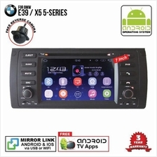 BMW E39 1995 - 2004 7' ANDROID Double Din GPS DVD Mirror Link Player