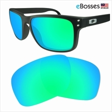 eBosses Polarized Replacement Lenses for Oakley Holbrook - Emarald Gre