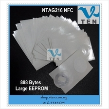 Universal NTAG216 23mm Sticker 888 Byte Larger EEPROM