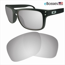 15bdd9d3c86 eBosses Polarized Replacement Lenses for Oakley Holbrook - Titanium