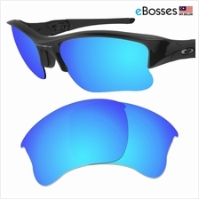 eBosses Polarized Replacement Lenses for Oakley Flak Jacket XLJ - Ice