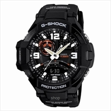 Casio G-Shock GA-1000-1A Gravity Defier Twin Sensor Ana-Digi Watch