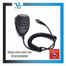 BAOFENG PTT Handsfree Speaker Microphone For KENWOOD Walkie Talkie