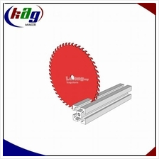 Custom-Length Cuts Aluminium Profile T-Slot 20x20 / 10mm