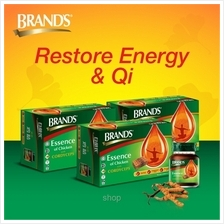 [3 Packs] BRAND'S® Essence of Chicken with Cordyceps (3 x 6's) - 18 Bottles x