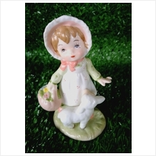 PORCELAIN HAND PAINTED DECORATION STATUE ANIMALS GIFT SS050