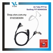Air Tube PTT Earphone Handfree For BAOFENG/KENWOOD/TYT Radio