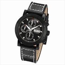 Epos Sportive Black PVD Index Watch - 3421