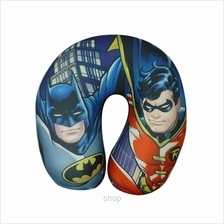 BATMAN  & ROBIN Lycra Neck Cushion