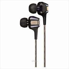 JVC Inner-Ear Headphone with High-Speed Twin Driver System - HA-FXT200 Silver
