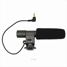 JJC Stereo Microphone for DV or DSLR with Microphone Hold and Path - MIC-1