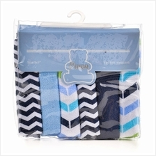 OWEN Knit Washcloth 6Pcs Set - 6689B