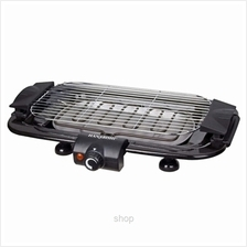 Hanabishi Portable Smokeless Electric Grill BBQ Set (Black) - HA1599