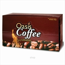 Oasis Coffee with Ginseng 20's x 20gm