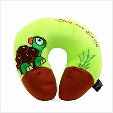 Happy Hoops Green Tortoise Love Our Earth Neck Cushion)