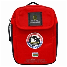 National Geographic Explorer Small Hook Bag (Red) - NG-N01102-35