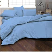 Essina 620TC Candies Collection Fitted Sheet Set Bondi Blue