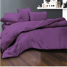 Essina 620TC Candies Collection Fitted Sheet Set Eggplant