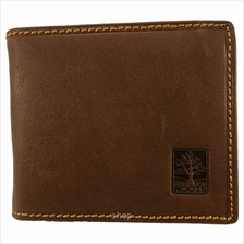 Country Roots CZ9423 Bifold Leather Wallet Brown)