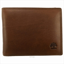 Country Roots CA9426 Side-flip Leather Wallet Brown)