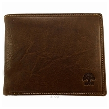 Country Roots CA9427 Side-flip Leather Wallet Brown)