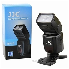 JJC Manual Camera Flash/Speedlite for Nikon Canon Camera - SF-33)