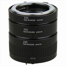 JJC Automatic Extension Tube for Nikon F-mount (12mm/20mm/36mm) - AET-NS