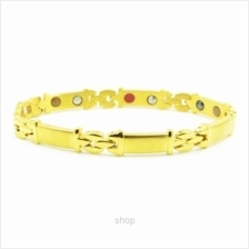 Criss Stainless Steel Bio Magnetic 5 in 1 Bracelet for Ladies - SSW-8154-FG