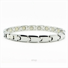Criss Tungsten Carbide Bio Magnetic Bracelet for Ladies - TC-8916