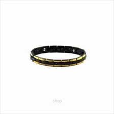 Criss Stainless Steel Bio Magnetic Bracelet with Black Magnetic Ball - SSW-806