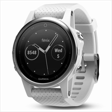 Garmin Fenix 5s Carrara White GPS Watch SEA - 010-01685-30