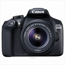 Canon EOS 1300D Kit 18-55mm (EF S18-55 IS II) DSLR Camera + 16GB)