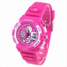 Hello Kitty Analogue/Digital Watch - HKSQ-1355-02B