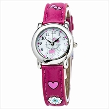 Hello Kitty Quartz Analogue Watch - HK1216CT-01B
