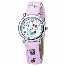 Hello Kitty Quartz Analogue Watch - HK1219CT-01A