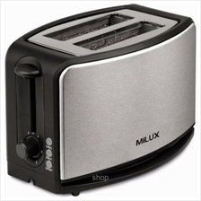 Milux Bread Toaster with Cover - MBT-2335