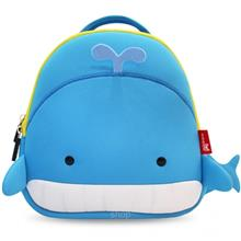 NOHOO Whale Kids Backpacks (For 2-4 Years Old) - NH025-BLU