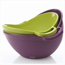 Easy & Free Camp Smart 2pcs (Large + Medium) Mixing Bowl Set