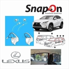 Groovy Lexus SUV SNAP-ON 4.0 (MAGNET) Car Sunshades