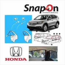 Groovy Honda SUV SNAP-ON 4.0 (MAGNET) Car Sunshades