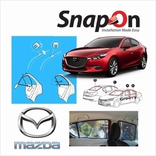 Groovy Mitsubishi SEDAN SNAP-ON 4.0 (MAGNET) Car Sunshades