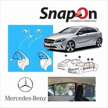 Groovy Mercedes HB SNAP-ON 4.0 (MAGNET) Car Sunshades