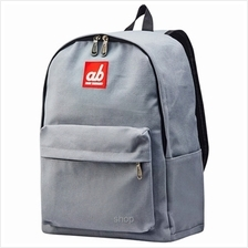 ab New Zealand Kids Canvas Backpack (Simplicity Grey) - AB-KBP-SG