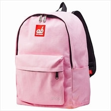 ab New Zealand Kids Canvas Backpack (Simplicity Pink) - AB-KBP-SP