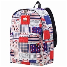ab New Zealand Kids Canvas Backpack (Britain Retro) - AB-KBP-BR